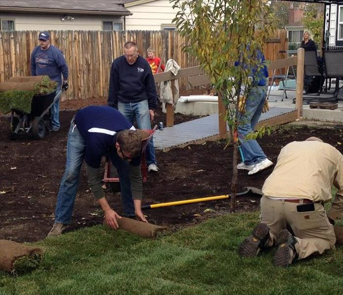 The Home Builder Foundation Volunteers