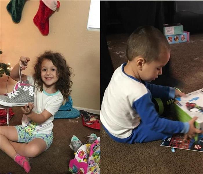 Community SERVPRO Helps Aurora Family with Christmas